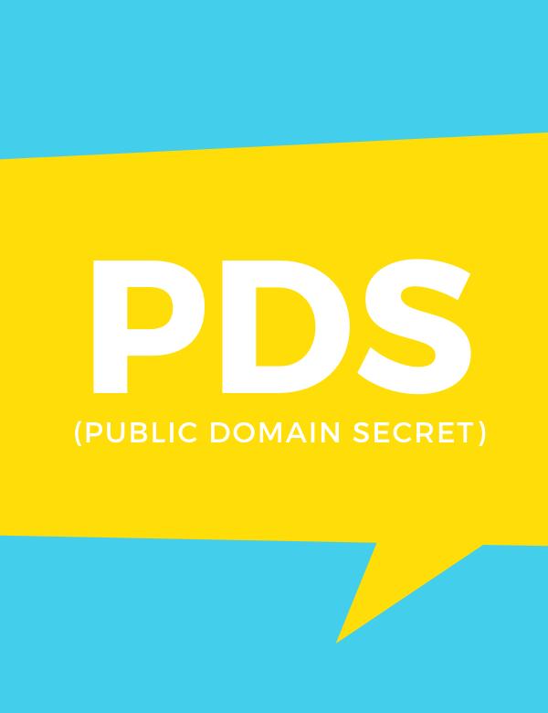 public domain secret