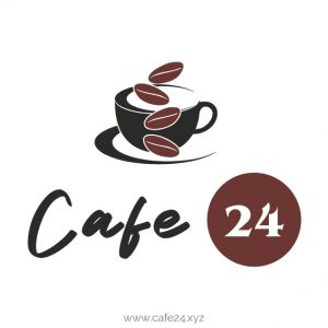 cafe24.xyz domain name for sale cafe 24 logo